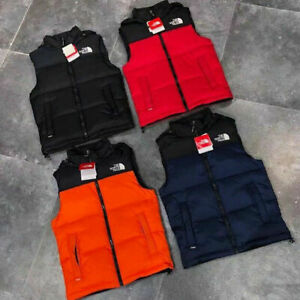 The North Face Down Jacket Mens Womens Winter Warm Outerwear Vest Puffer Coat UK