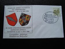 ALLEMAGNE (rfa) - enveloppe 5/7/1986 (B8)  germany