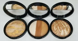 Laura Geller Baked Face Powder Makeup Foundation Bronzer Glow Tan bronzing look