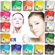 30PCS Korean Essence Facial Mask Sheets Moisture Face Mask Pack Skin Care Lots