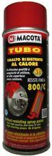 Macota 08408 Tubo Smalta Alta Temperatura - Rosso, 400ml