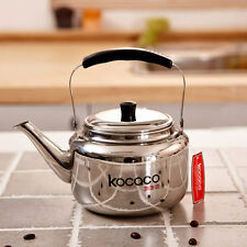 KOCACO 1-Liter Stainless Steel Kettle Boiling Hot Water Pot Tea Coffee Maker