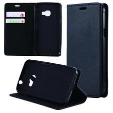 Custodia per Samsung Galaxy Xcover 4 Cover Case Portafoglio Wallet Etui Nero