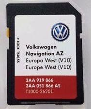 VW RNS 315 Navi Update 2018 SD Karte V10 Westeuropa Volkswagen Seat Skoda Neu