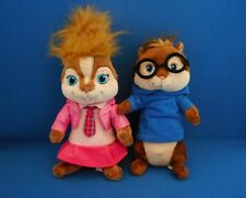 """Alvin and the Chipmunks Brittany Simon Build A Bear Chipette Soft Cuddly Toy 11"""""""