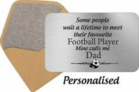 Personalised Wallet Card Fathers Day Daddy Dad Gift Idea  Grandad Keepsake Gramp
