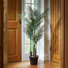 Large Artificial Palm Tree 124cm Faux Fake Plant Home Indoor Decoration Ornament