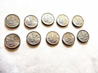 """1993 - 1999 China One (1) Yi Jiao """"Peony Blossom"""" (One Coin Per Order)"""