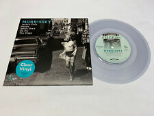 """Morrissey - JACKY´S ONLY HAPPY WHEN SHE´S UP ON THE STAGE- 7"""" clear Vinyl Single"""