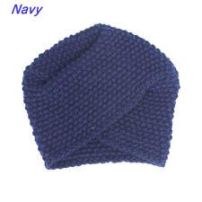 Women Knitted Beanie Headband Crochet Head wrap Luxury Knit Turban Head Wrap