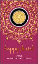 2018 Diwali Festival 1g Gold Coin