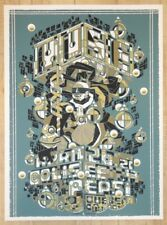 2013 Muse - Montreal III Silkscreen Concert Poster by Guy Burwell