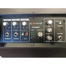 EXTREME PPA8BTi SPEAKER BOX COMBO CHITARRA E VOCE A BATTERIA 3 CANALI 60 WATT EQ