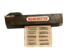 Manchester Mtc Cut Off Grooving Metal Lathe Tool Holder 250 143 With Inserts
