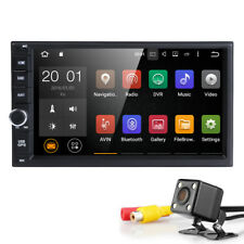 "7"" Android Quad Core Car Stereo GPS Radio double 2DIN NAVI WiFi USB Bluetooth HD"