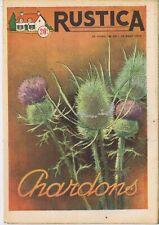 Rustica 33 14/08/1955 Chardons