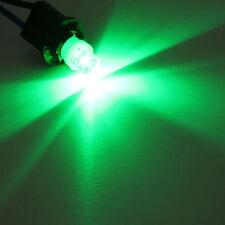 4 green T10 5W wedge globe LED Car Light Bulbs