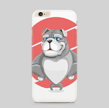 Bulldog Happy Dog Puppy Animal Pet Phone Case Cover