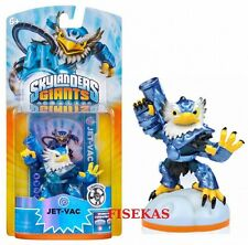 Skylanders Giants JET-VAC LIGHTCORE Figure Card Sticker Code 2012 NEW