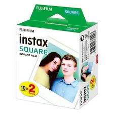 20 Shot Pack Fuji Instax Square Film for Fujifilm Instax SQ10 Hybrid Cameras