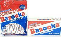 1960s TOPPS BAZOOKA JOE bubble gum pack cartoon-1 PIECE for US$ 14.00-BUY IT NOW