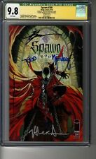 Spawn # 300 - Cover G (Campbell) - CGC 9.8 WHITE Pages - SS4X Todd McFarlane