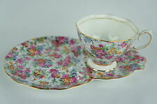 Vintage Royal Albert Bone China Snack Plate Teacup England (1of6) [Y7-W6-A8]