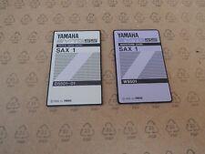 "YAMAHA Memory Card SY TG55 TG77 ""SAX "" Sound ROM Card lot W5501 PCM D5501 DATA"