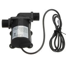 DC 12V 6M 1000L/H Electric Solar Brushless Motor Water Aquarium Fountain Pump