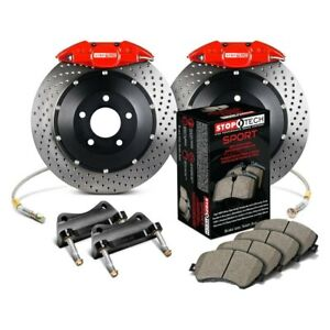 1 Pack Front Right StopTech 127.34077R Sport Drilled//Slotted Brake Rotor