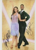 Catherine Tyldesley   **HAND SIGNED**  12x8 photo  ~  Strictly Come Dancing