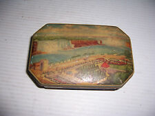 VINTAGE GEORGE W HORNER BOY BLUE RUM & TOFFEE COLLECTIBLE TIN MADE IN ENGLAND