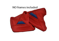 FITS BMW  E36 E46 RED M3 SET OF GAITORS-GENUINELEATHER