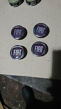 Fiat plastic alloy wheel centre caps B632