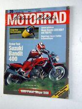 MOTORRAD 26-90+SUZUKI BANDIT 400+HONDA CBR 600 F+MZ 250+MOTO CROSS+FALLERT-BMW
