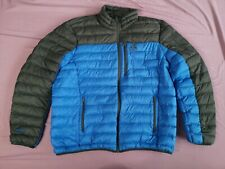 GERRY Men's Blue Grey Down Puffer Jacket Coat Size XXL Used Condition