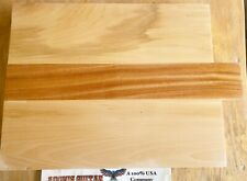 Mahogany & Basswood Guitar, Bass Body Blank Luthier, 17.5/19.75 x 14.5x 1.75 3pc