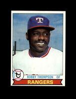 1979 Topps Baseball #336 Bobby Thompson (Rangers) NM-MT