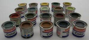 [3117] Humbrol Farben Set Color Enamel 20 Stück 14 ml Neu