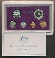 Australia: 1977 Silver Jubilee Proof Set in RAM Case , Nice set