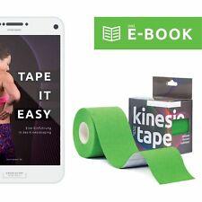 Sportsment® Kinesiotape 5cm x 5m Kinesiologie Tape Sporttape inkl. gratis E-Book