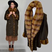 Vintage ESCADA Kaschmir Samt Nerz Cape Wolle Zobel Pelz Mantel Winter Jacke Feh