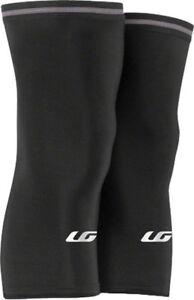 New Louis Garneau Knee Warmer 2: Pair~ Black~ MD