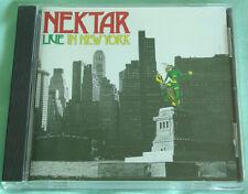 "Progressive Rock NEKTAR ""Live In New York"" CD 1991 BELLAPHON German Import EX"