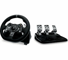 Logitech Force G920 Xbox One & Driving PC Racing Volante y pedales Negro
