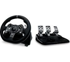 Logitech Fuerza de Conducción G920 Xbox One y PC Racing rueda y pedales Negro