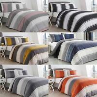 Betley Duvet Covers Modern Striped Print Cotton Blend Quilt Cover Bedding Sets