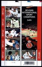 Judo. WM-2005, Belgien. Block. Belgien 2005