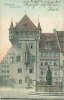 Ansichtskarte Nürnberg Nassauerhaus um 1900  (Nr.816)