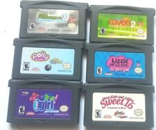 6 Gameboy Advance Games GBA SP DS DSl ~ Girls Lot ~ POLLY LIZZIE KIM POSSIBLE ++